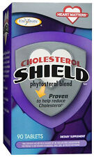 Cholesterol Shield - 90 Tablets - Enzymatic Therapy