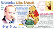 """COVERSCAPE computer designed 90th """"Winnie The Pooh"""" 1st published event cover"""