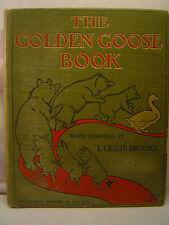 THE GOLDEN GOOSE BOOK, Drawings by L. Leslie Brooke, ca. 1920's