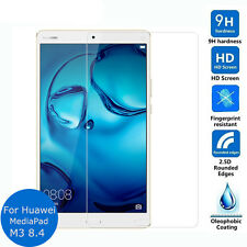Premium 9H 2.5D Tempered Glass Screen Protector Film For Huawei MediaPad M3 8.4""