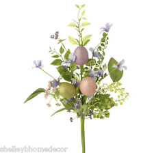 """Mixed Egg Artificial Floral Easter Spring Stem 16"""" rzea f3606614 NEW RAZ Imports"""