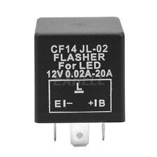 Relè Relay Lampeggiatore Flasher 3 Poli LED Indicatore Ricambi 12V Auto Moto