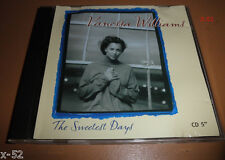 VANESSA WILLIAMS rare single THE SWEETEST DAYS 4 track CD Merry Little X-mas