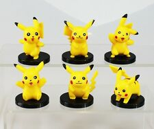Pikachu Pokemon Go Playset 6 Figure Cake Topper Party * USA SELLER* Toy Doll Set