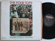 FOUR TOPS MAIN STREET PEOPLE ORIG US ABC FUNKY SOUL / BLAXPLOITATION LP 1973