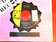 AL WILSON~ THE SNAKE~ VG++~ GETTING READY FOR TOMORROW~ ~ NORTHERN SOUL 45