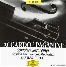 Accardo Plays Paganini: Complete Recordings (CD, Oct-2000, 6 Discs, DG...