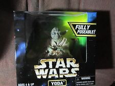 Star Wars Action Collection Yoda Fully Posable Action Figure Kenner 1997 - New!