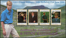 Grenadines Grenada 2000 SG#2997-3000 Prince William MNH Sheet #A89690