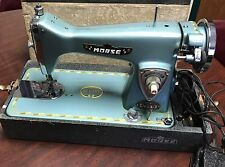 Morse 300 Deluxe Sewing Machine in Case