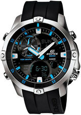 Edifice Advanced Marine EMA100-1A Tide Graph 200m Thermometer watch.