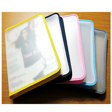 A4 Zip Bag  Presentation Document Wallets Folder Book File Portfolio Colours