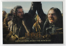 The Hobbit The Battle of the Five Armies - Base Card 17 Canvas Parallel 33/75