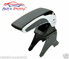 Universal Big Car Armrest Center Console Hand Rest-Black Chrome - Maruti Swift