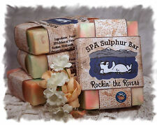 Patchouli Rockin the Rivers_ SPA Sulphur Soaps Made in Montana_Handmade Natural