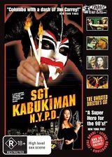 Sgt Kabukiman N.Y.P.D. (DVD, 2010) New DVD Region 4