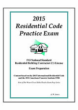 2015 International Residential Code Practice Exam Book