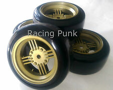 RC Car 1/10 EP 26mm 3mm OFFSET Wheel Rim DRIFT Tyre Tire AMERICAN CLASSIC GOLD