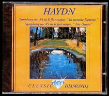 HAYDN - Sinfonia 84 In Nomine Domine / Sinfonia 85 The Queen - SPAIN CD Alfa D
