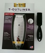 ANDIS T-OUTLINER Trimmer #04710 Professional Barber And 1 Clipper Brush