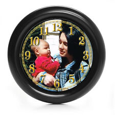 PERSONALISED  PICTURE/PHOTO WALL CLOCK