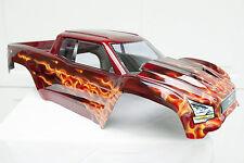 Custom Painted RC Body fits Traxxas X-Maxx XMAXX X MAXX #7711 Fire Flames True
