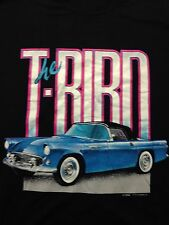 Vintage Thunderbird T-bird Hotrod Car Ford Automobile Soft 2xl T Shirt Cruisin