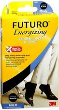 FUTURO Energizing Trouser Socks For Women Mild Large Bl