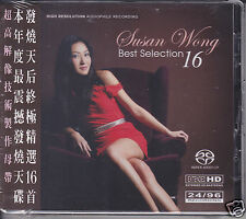 "Susan Wong ""Best Selection 16"" 24-bit/96 kHz Audiophile Hybrid SACD CD Brand New"