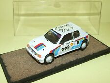 PEUGEOT 205 TURBO 16 1984  VERSION TEST KIT Monté PROVENCE MOULAGE