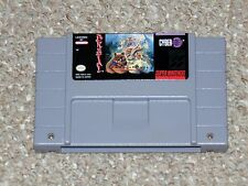 Brutal: Paws of Fury Super Nintendo SNES Cartridge