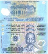MINT VIETNAM 10 x 20000 DONG POLYMER BANKNOTES-UNCIRCULATED!