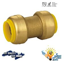 """1/2"""" Push Fit Coupling Fitting with 10 years warranty (113-01) - Lead Free"""