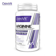 L-Arginine 210g Nitric Oxide NO Booster Pre-Workout Formula Animal Pump Powder