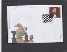 Croatia 2012 National Chess Federation FDC Zagreb pictorial fdi h/s