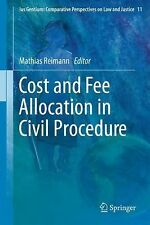Ius Gentium Comparative Perspectives on Law and Justice: Cost and Fee...