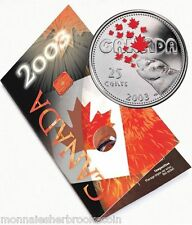 2003 Canada 25 Cents Coloured Coin - Canada Day - STILL SEALED - B478