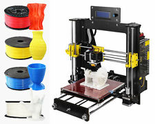 DIY 3D printer LED display large desktop 3D printer, with Free Filament- SD card