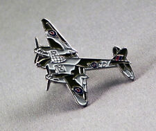 Metal Enamel Pin Badge Brooch RAF Mosquito Moskito WW11 Tactical Bomber Air Forc