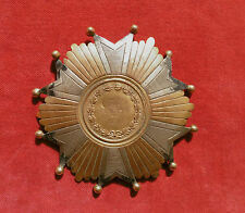 MARSEILLE 1874 :  PLAQUE NOMINATIVE LEGION D'HONNEUR ?