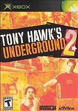 Tony Hawk's Underground 2 (Microsoft Xbox, 2004) VERY GOOD