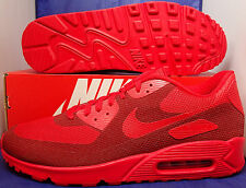 Nike Air Max 90 Hyperfuse Premium iD Gym Red Team Red SZ 13 ( 822560-997 )