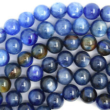 "6mm blue kyanite round beads 16"" strand S6"