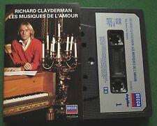 Richard Clayderman Les Musiques de L'Amour inc My Way + Cassette Tape - TESTED
