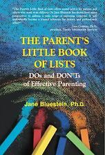 The Parent's Little Book of Lists: DOs and DON'Ts of Effective Parenting by Blu
