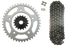 Black 525x122 O-Ring Drive Chain & 17/41 Sprockets Honda Shadow 750 ACE VT750