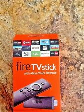 All-New Fire TV Stick 2g with Alexa Voice Remote | Streaming Media Player Kodi