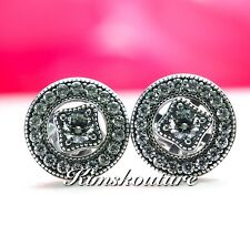 Authentic Pandora Vintage Allure Detachable Stud Earrings 290721CZ