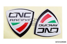 CNC racing decal sticker quality domed gel for motorbike racing motor ducati