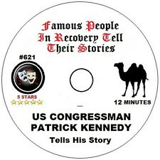Alcoholics Anonymous AA Speaker CD - Patrick Kennedy Tells His Story